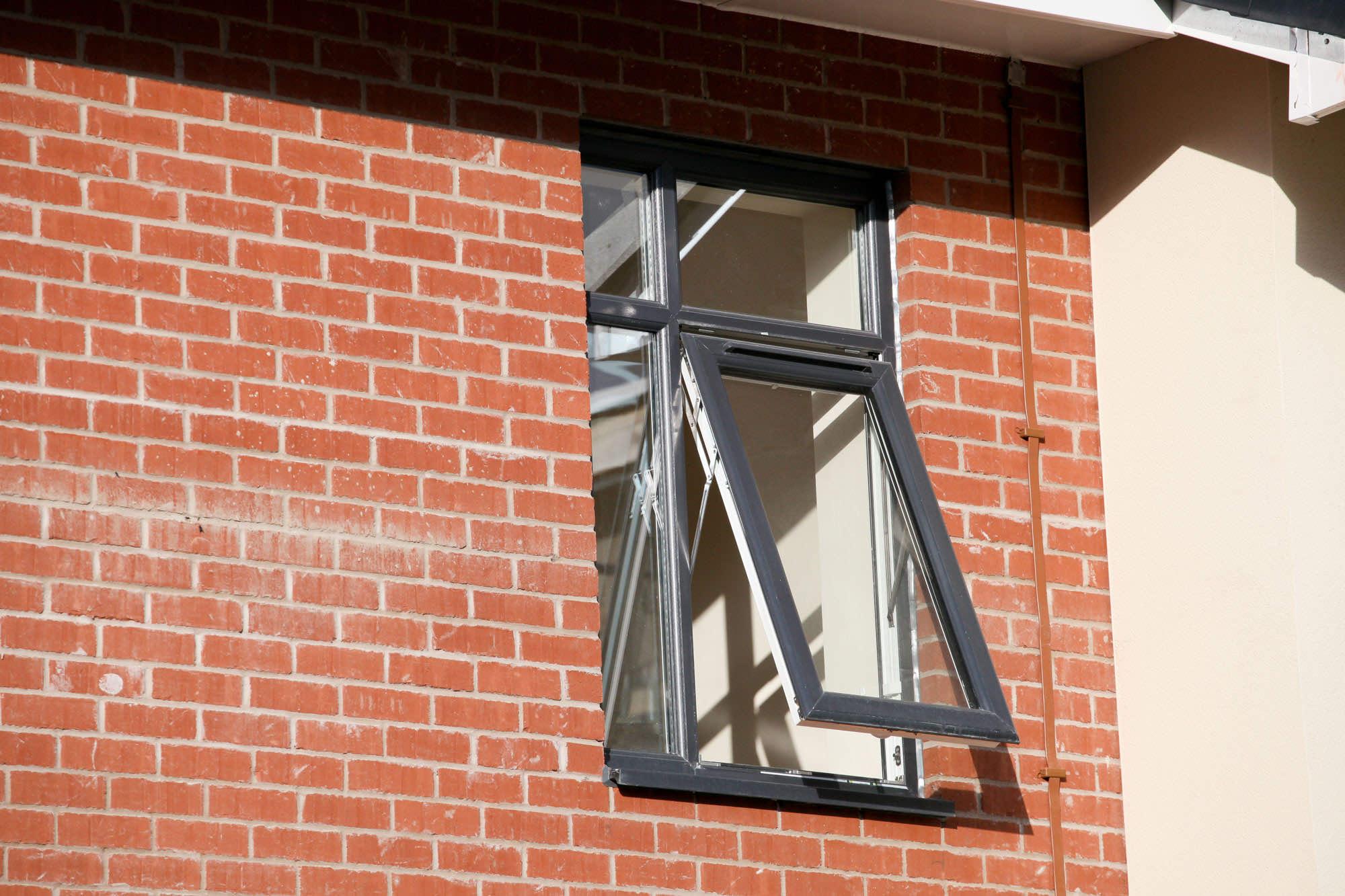 3. Push-out casement windows