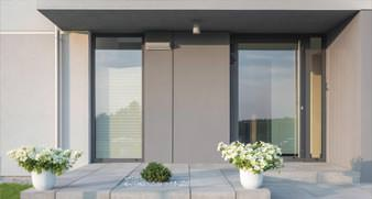 Aluminium Entrance Doors by Schuco, London