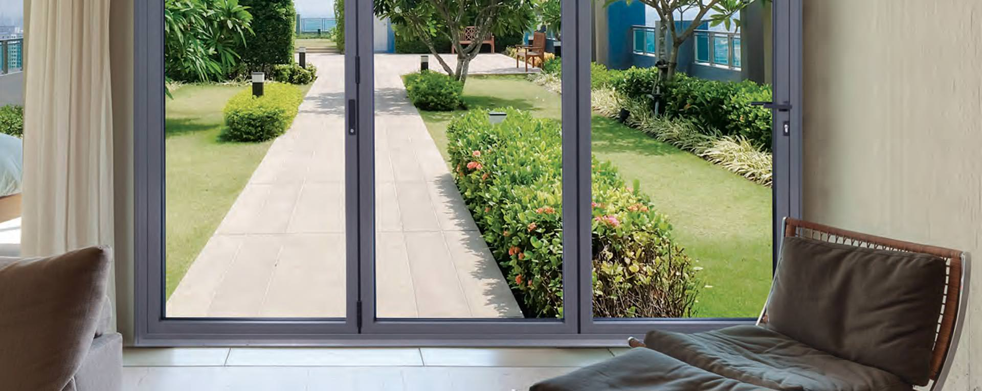 Aluminium folding Doors, London