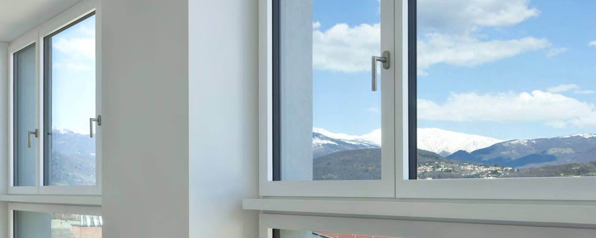 Schuco AWS 70 Casement Windows, London