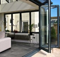 Aluminium Folding Doors London ALUK BSF70