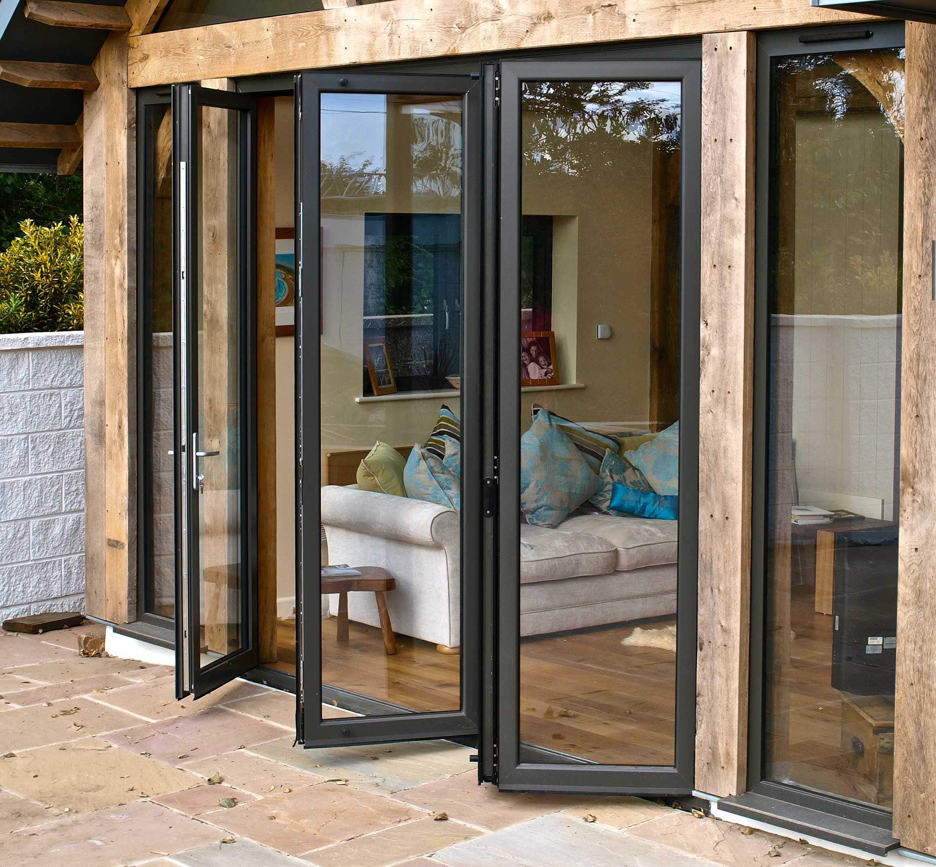 Aluk Bi-Fold Doors
