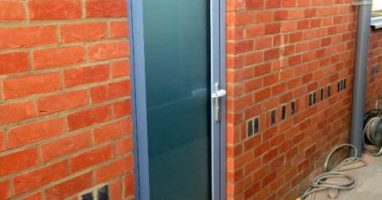 Shuco Aluminium Entrance Door London