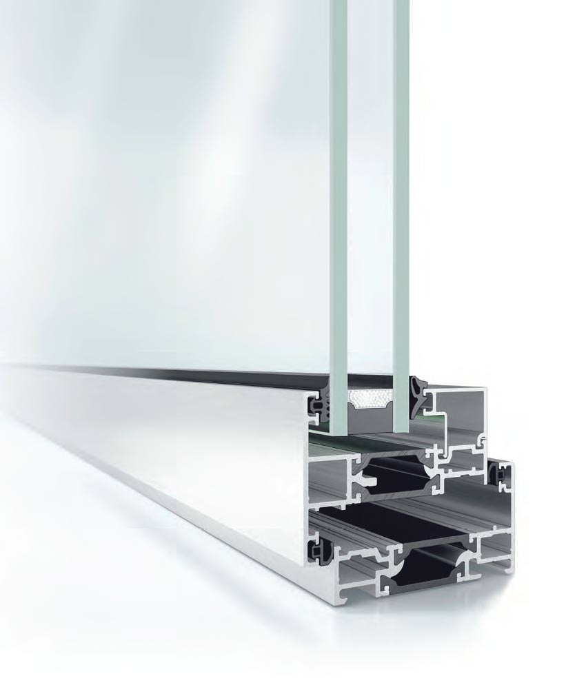 Aluminium Windows Profile from Schuco