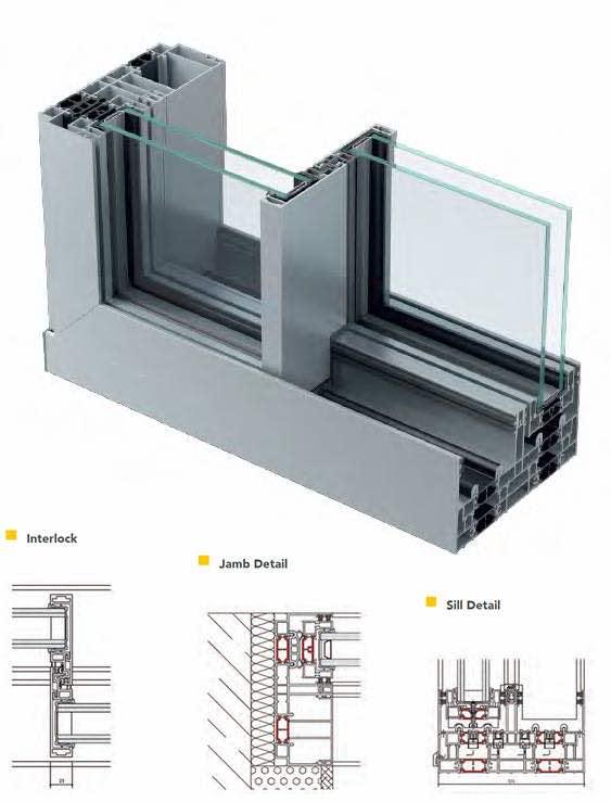 ALUK Infinium folding doors profile Watford