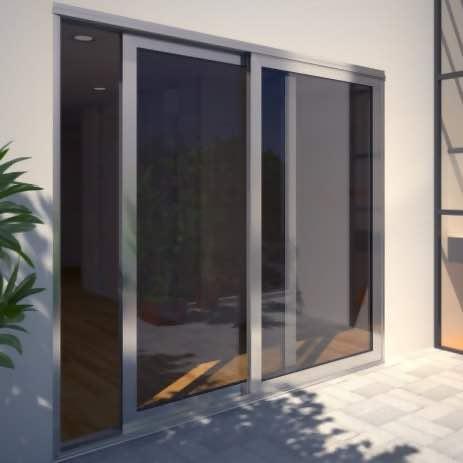 Aluminium Sliding Doors by Arkay