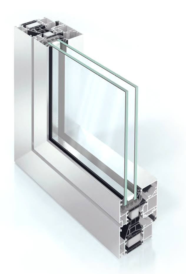 aluminium windows AWS 70 Profile watford