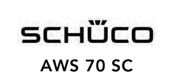 Schueco AWS 70 SC Windows