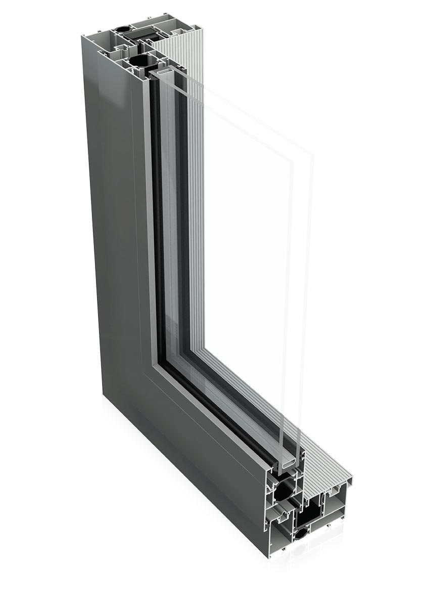Aluk BSC94 Sliding Door Profile