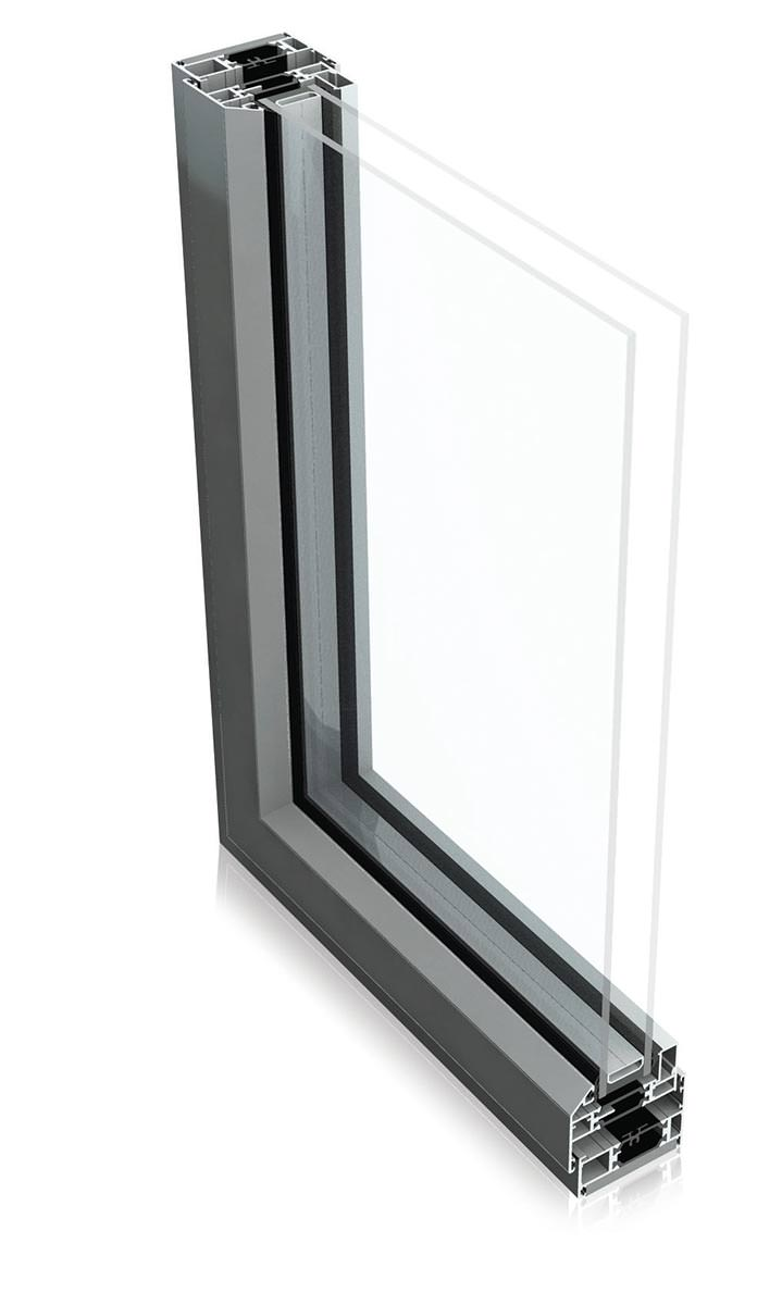 Aluminium Steel Window Profile by Aluk