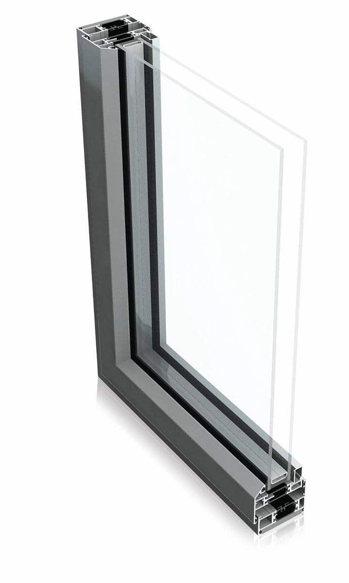 Aluminium Steel Window Profile by Aluk
