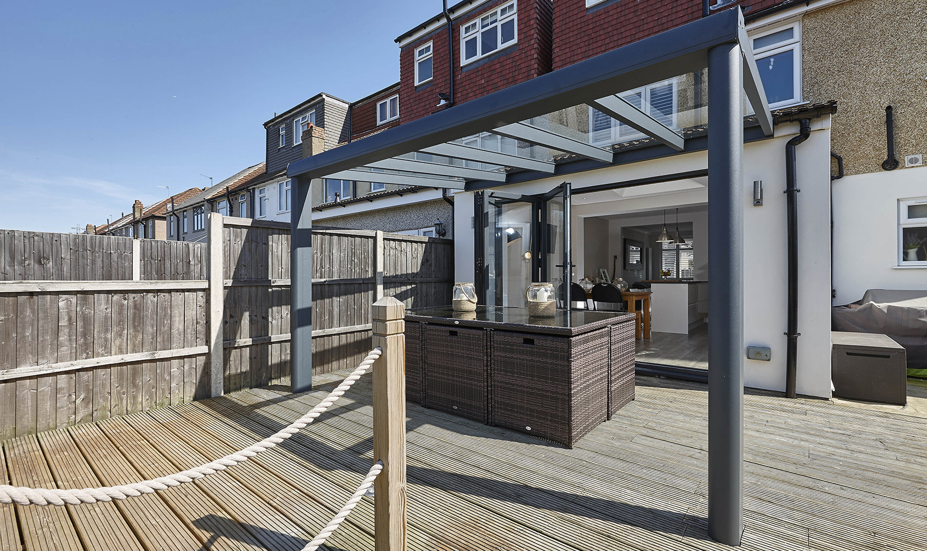 aluminium verandas london