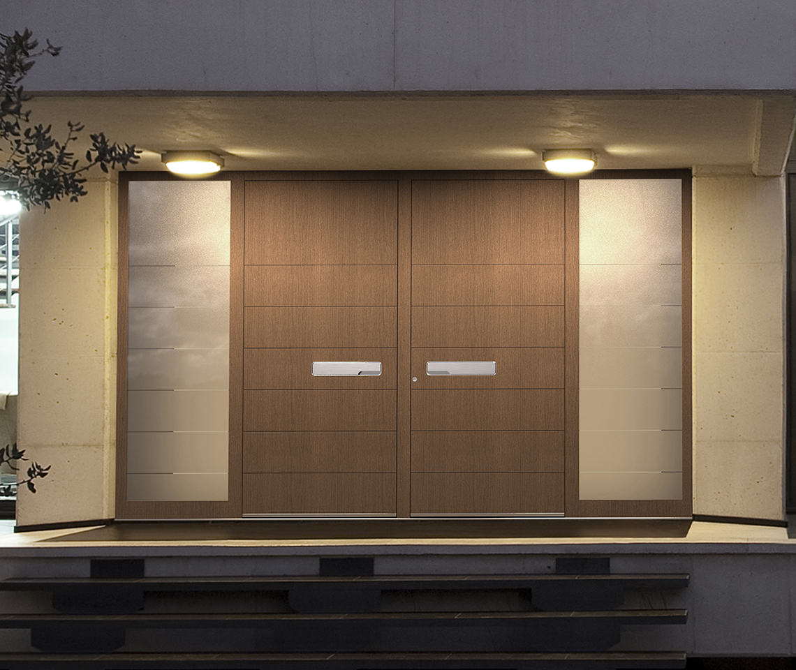 Large Front Doors For A Beautiful Entrance
