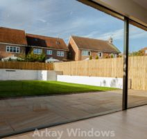 Large aluminium sliding doors Bournemouth
