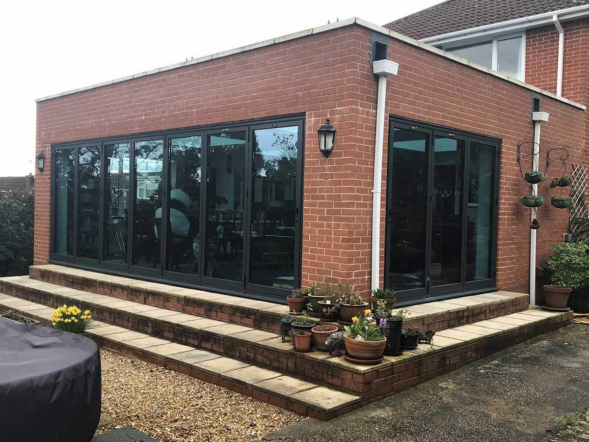 Bifold doors Southampton Abco
