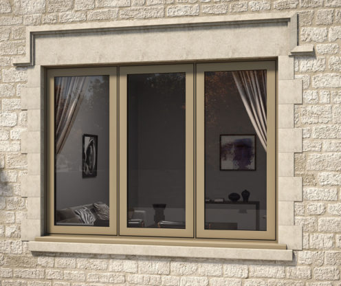 AluK Flush Casement Windows in London