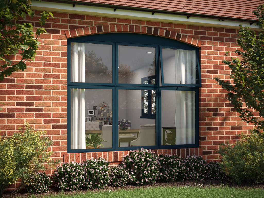 NEW Flush Casement Windows From AluK