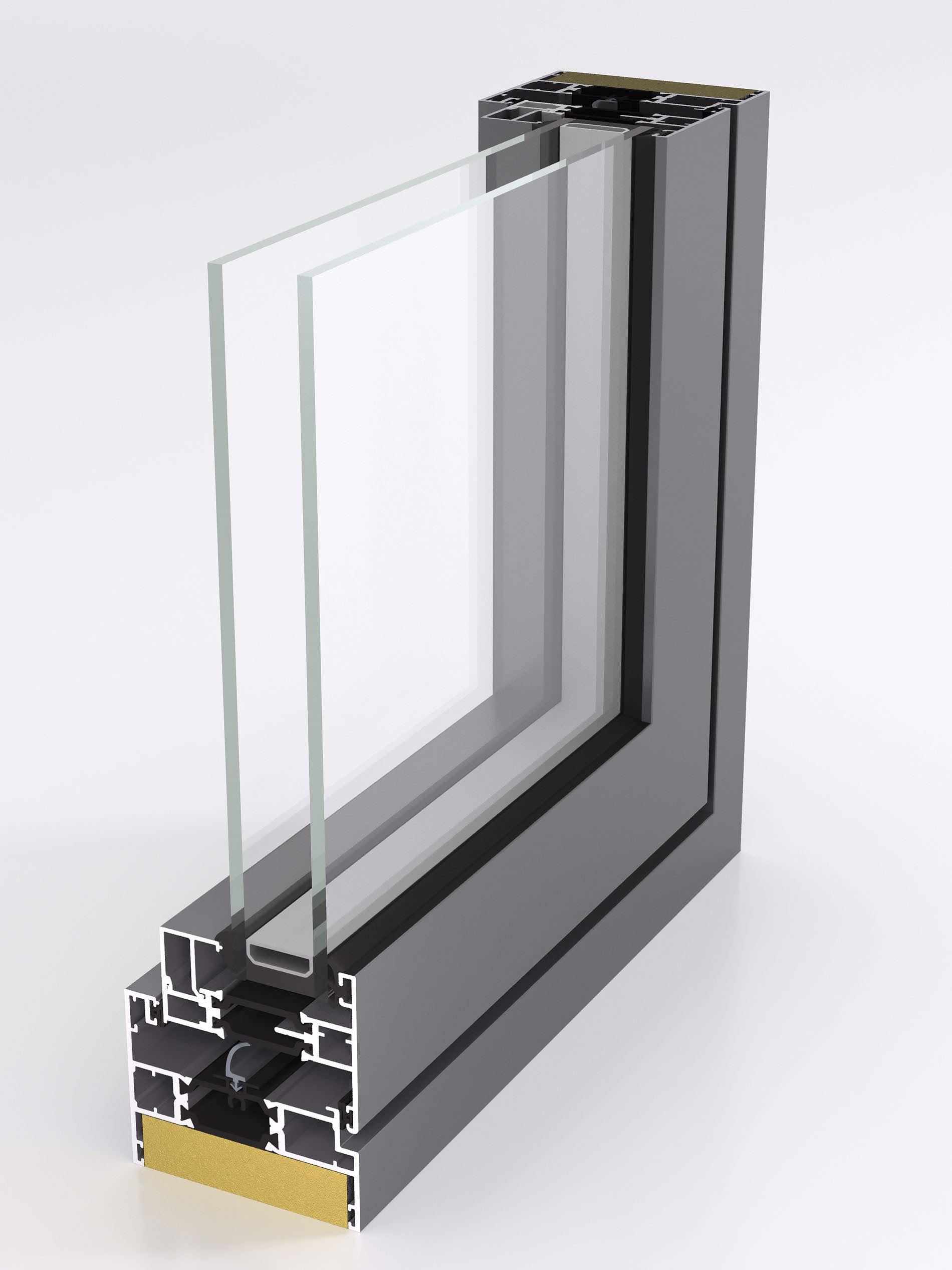 Aluk 85bw flush window manufacturer