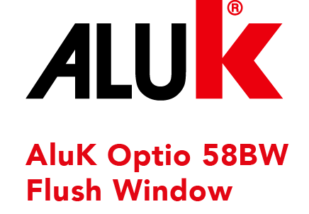 Aluk 58BW Flush Window Logo