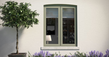 coloured flush windows in surrey