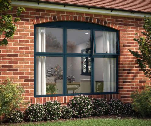 aluk flush sash windows hampshire