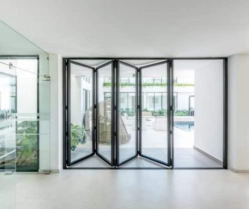 unifold+ aluminium bifold doors hampshire