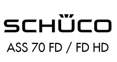 Schuco ASS 70 FD & FD HD sliding door Logo