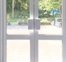 aluminium commercial doors london